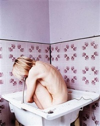 femme a sa toilette by elina brotherus
