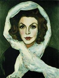 portrait einer schauspielerin, suzanne romain by francis picabia