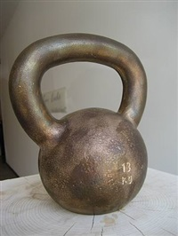 kettle bell by tom sachs