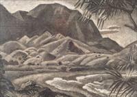 waihla bay study, hawaii by eugene francis savage