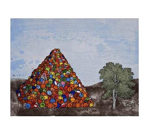 basketball pyramid by david huffman