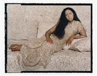 les femmes du maroc: nafissa a woman from alger by lalla essaydi