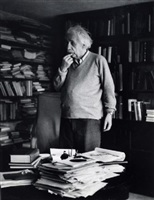albert einstein, princeton, new jersey by ernst haas
