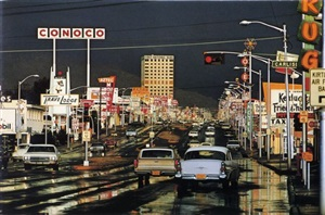 route 66, albuquerque, new mexico by ernst haas