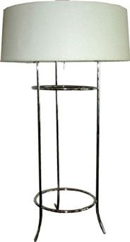 tripod table lamp for hansen by t.h. robsjohn-gibbings