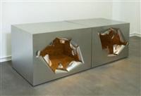 broken cubes by maria pergay