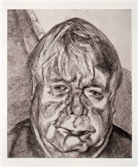 donegal man by lucian freud