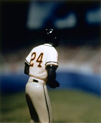 willie mays by david levinthal