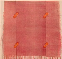 four knots (red tied square) by richard smith