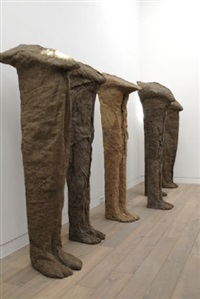 ghosts, spooks, spirits by magdalena abakanowicz
