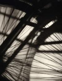 bicycle wheel vortograph by alvin langdon coburn