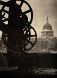 st paul's cathedral and cog by alvin langdon coburn