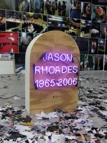 jason rhoades by rob pruitt