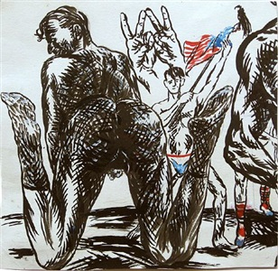 c h a n g e a m e r i c a - a group exhibition by raymond pettibon
