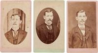 portraits (3 works) by mcarthur cullen ragsdale
