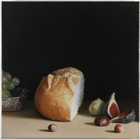 pa, raim figues i fruits secs by josep santilari