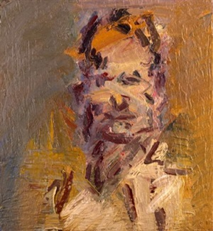 head of jake by frank auerbach