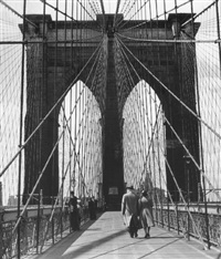 brooklyn bridge by andreas feininger