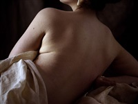 <!--44-->nude (after carracci) by philip haas