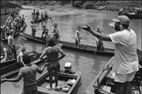 francis ford coppola directing, apocalypse now, pagsanjan, philippines by mary ellen mark