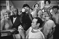 the cast of one flew over the cuckoo's nest posing for their photograph on location at the oregon state hospital, salem, oregon by mary ellen mark