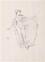 the dancing girl by james abbott mcneill whistler
