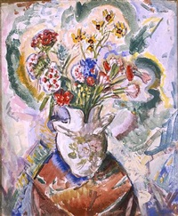flowers by alfred henry maurer