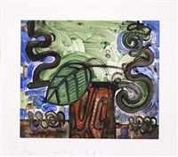 big leaf by carroll dunham