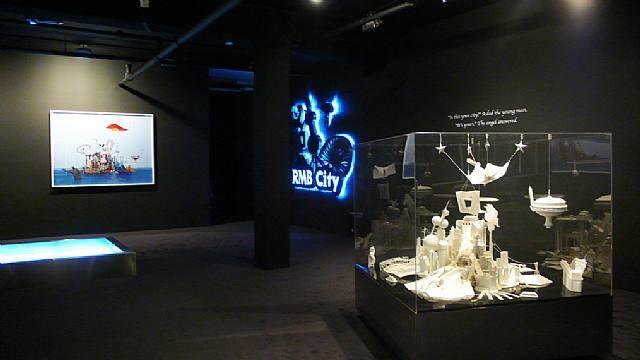 rmb city installation by cao fei