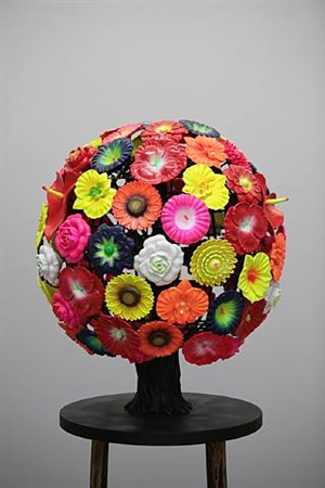 flower tree by choi jeong hwa