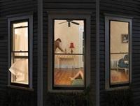 night windows by julie blackmon