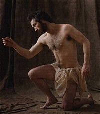 <!--47-->st. jerome (after carracci) by philip haas