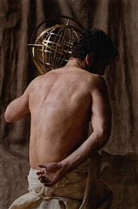 <!--48-->globe (after carracci) by philip haas
