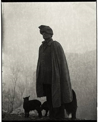 man and sheep by adou