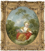 la petite jardinière by jean honoré fragonard