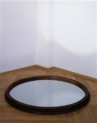 untitled (pozzi) (installation view) by michelangelo pistoletto