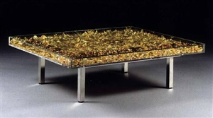 table or by yves klein