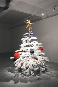 fraught times: for eleven months of the year it's an artwork and in december it's chritsmas by philippe parreno