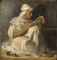 jeune poète arabe by théodore chassériau