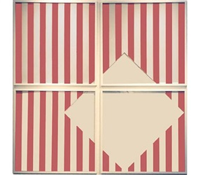 photo-souvenir : negative square, édition by daniel buren