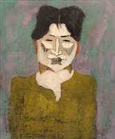 belle gross by milton avery