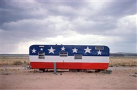 trailer, arizona route 66 by john baeder