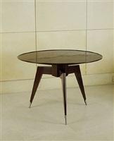 guéridon tripode / tripod pedestal table by émile jacques ruhlmann