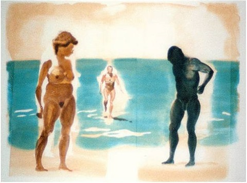 beach by eric fischl