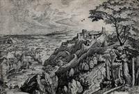 saint jerome in the desert by pieter brueghel the elder