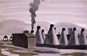 industrial kilns by charles ephraim burchfield