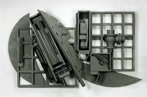 mirror-shadow xvi by louise nevelson
