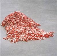 untitled (amaca, red-white) by rosemarie trockel
