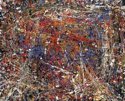untitled by jean paul riopelle