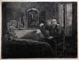 abraham francen by rembrandt van rijn